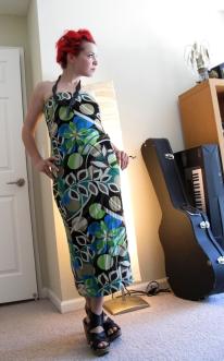 Multi-Print Dress